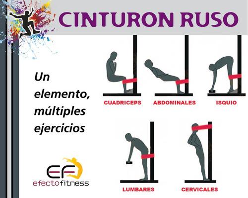 cinturon ruso tirante muscular entrenamiento funcional