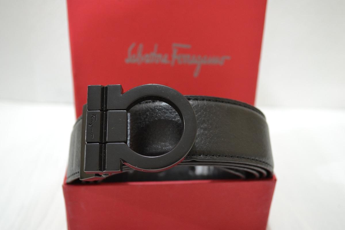 fc2322c732b53 Cinturón Salvatore Ferragamo Negro -   450.00 en Mercado Libre