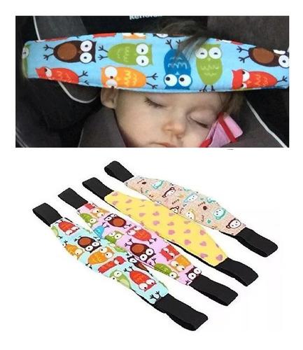 cinturon seguridad para cabeza de bebe auto x2 entrega ya!