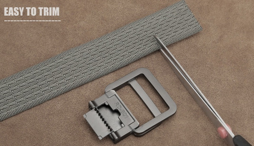 cinturón táctico formal hebilla bucle de doble anillo