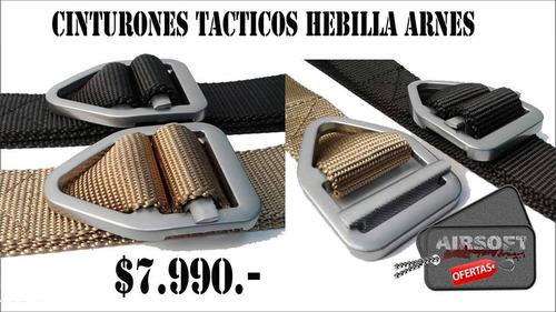 cinturon táctico militar hebilla arnes airsoft