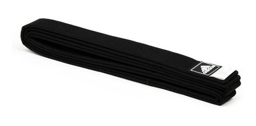 cinturon taekwondo adidas negro infantil niño 210 cm karate