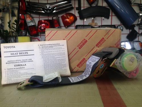 cinturón tipo3 trasero derecho toyota corolla 1999-2002 orig