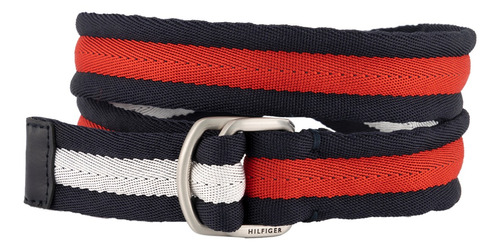 cinturón - tommy hilfiger - am0am03477-902 - rojo hombre