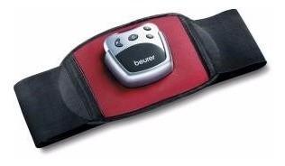 cinturón tonificador de músculos abdominales beurer em30