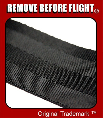 cinturón unisex hebilla de avíon remove before flight ®