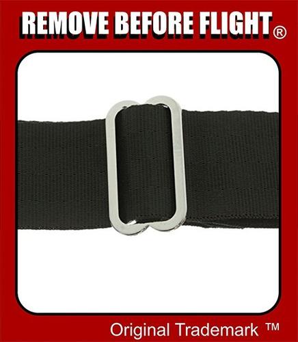 cinturón unisex hebilla de avíon remove before flight ®