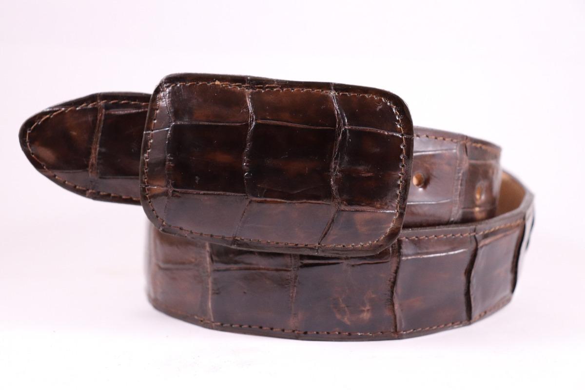 953f1916d7 cinturón vaquero de piel exotica cocodrilo tiburón avestruz. Cargando zoom.