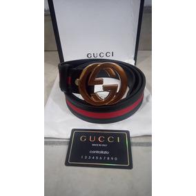 00209952f Cinturon Gucci Rojo Arcangel - Cinturones Gucci de Hombre Dorado ...