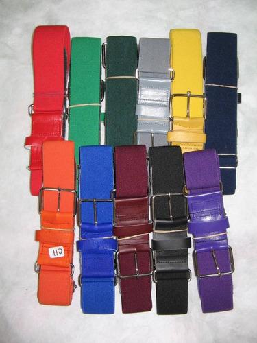 cinturones beisbol por docena