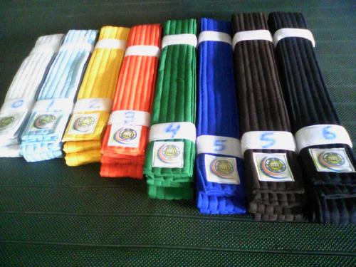 cinturones . cintas de karate todos los colores