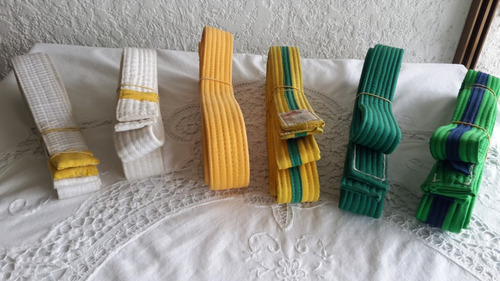 cinturones/ cintas  para taekwondo
