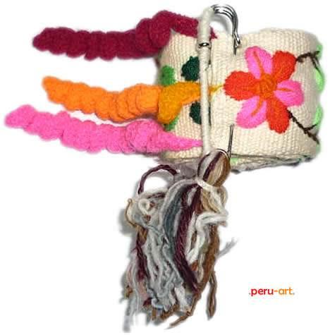 cinturones de alpaca bordada artesania regalos