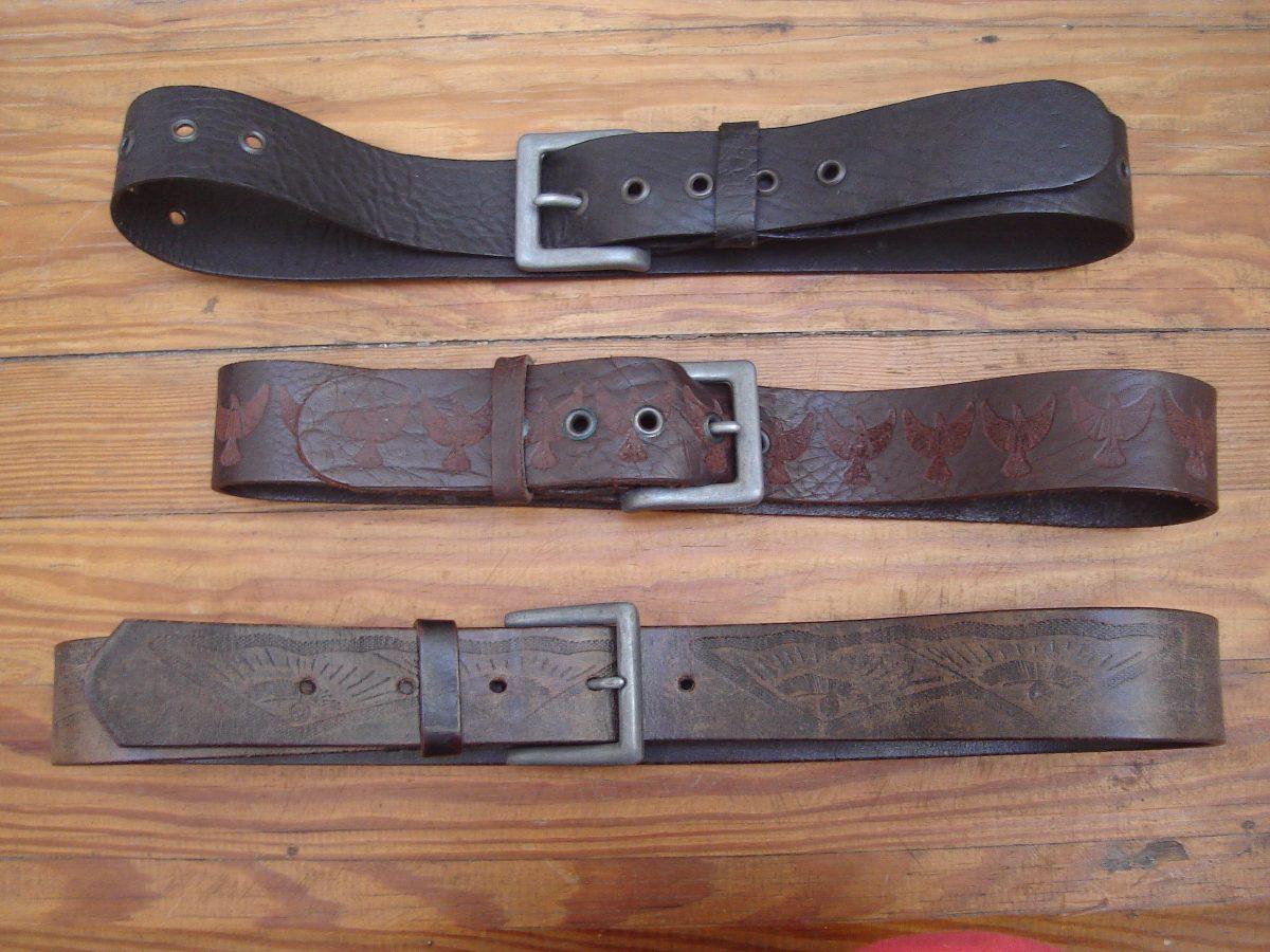 536b00c54 Cinturones De Cuero Artesanal. Todas Las Medidas!! - $ 330,00 en ...