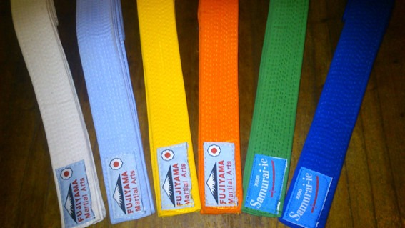 Cinturones De Judo Aikido Karate. Samurai-ie 10 Costuras -   378 d29930d268b8