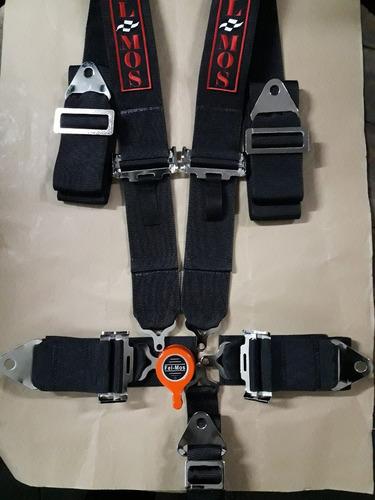 cinturones de seguridad de 5 puntas fel-mos competicion