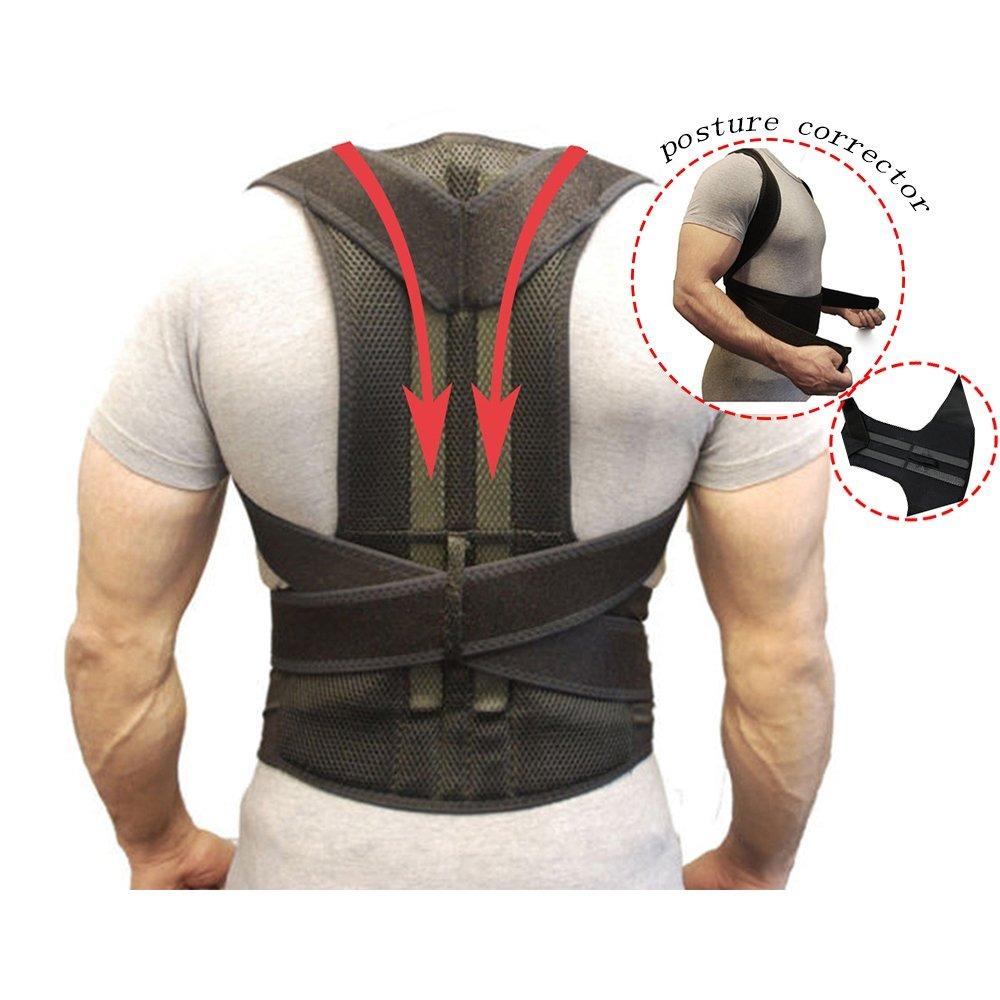 e6bc51efa0e7 Cinturones De Soporte Para La Espalda Corrector De La Pos