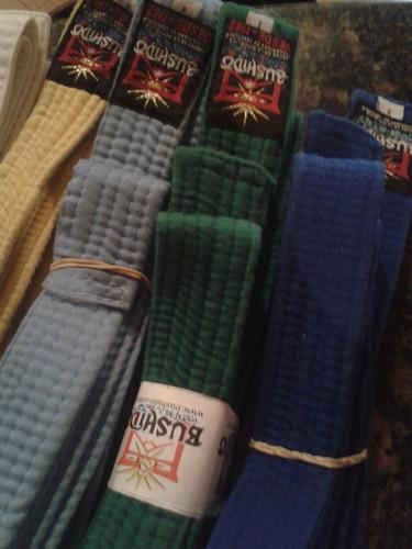 cinturones de taekwondo