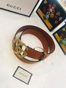 d4a641a7b Cinturon De Piel Para Hombre - Cinturones Gucci Rojo en Mercado ...