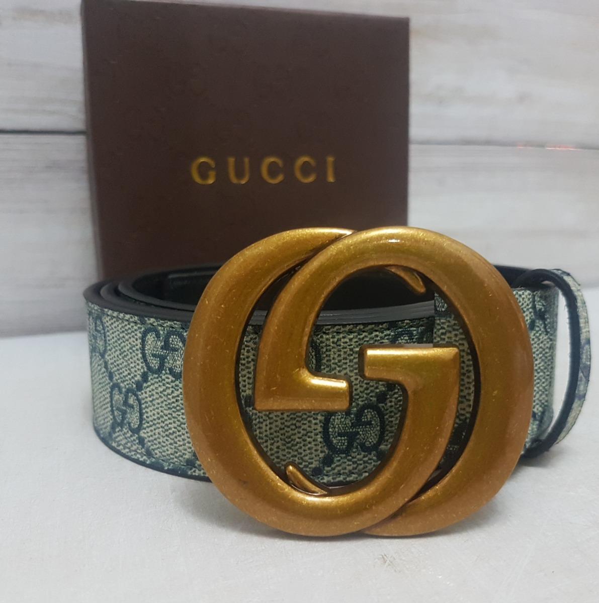 eaba20509 Cinturones Gucci Correa Espectaculares - Bs. 109.656,27 en Mercado Libre