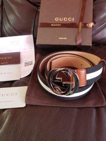 a590d5531 Cinturon Gucci Original Verde Y Rojo Barato! Cinturones - Accesorios de  Moda de Hombre en Mercado Libre México