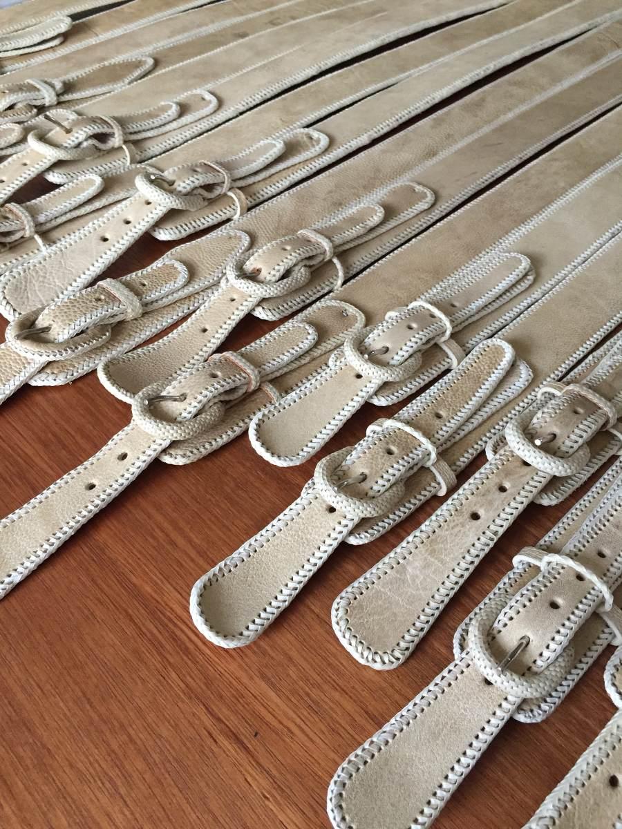 Cinturones Huaso Cuero Crudo Cainva -   27.900 en Mercado Libre 142b5cc646ce