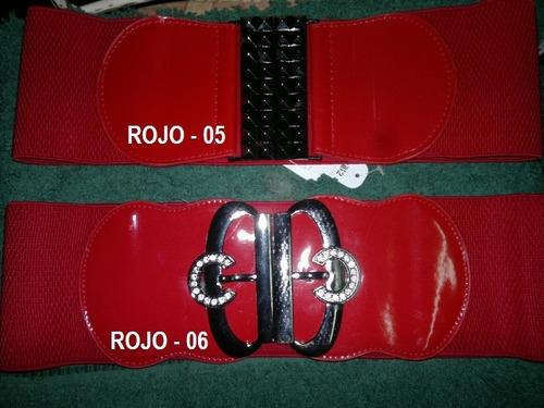 cinturones para damas con elastica.