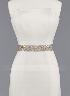 cinturones para vestido de novia en pedrería