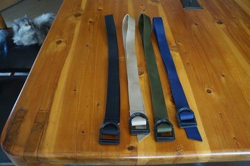 cinturones varios colores ajustables con hebilla