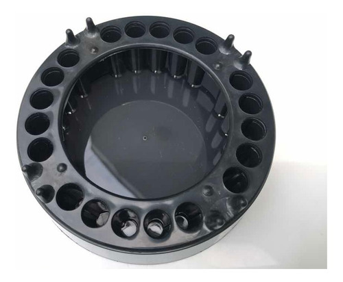 cinzeiro anti-fumaça - 1 unidades jetaplast preto new black