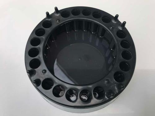 cinzeiro anti-fumaça - 10 unidades jetaplast preto new black