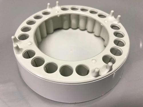 cinzeiro anti-fumaça 4 unidades - todo branco