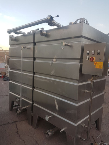 c.i.p clean in place acero inoxidable 2 tanques