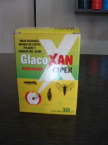 ciper 30cc insecticida repelente mata gusanos orugas mosca