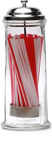 circleware 06667 mia retro frasco dispensador  bebida vidri