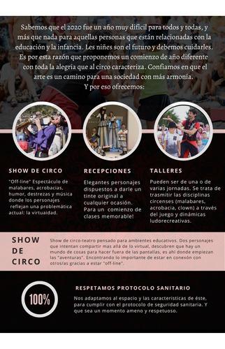 circo lumiere show casamiento eventos cumpleaños escuelas