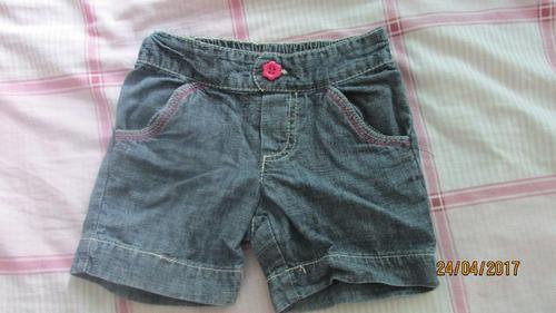 circo short jeans talla 4 niña (usado)