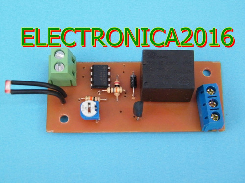 Circuito Ldr : Circuito v sensor ldr control led lm solar rele