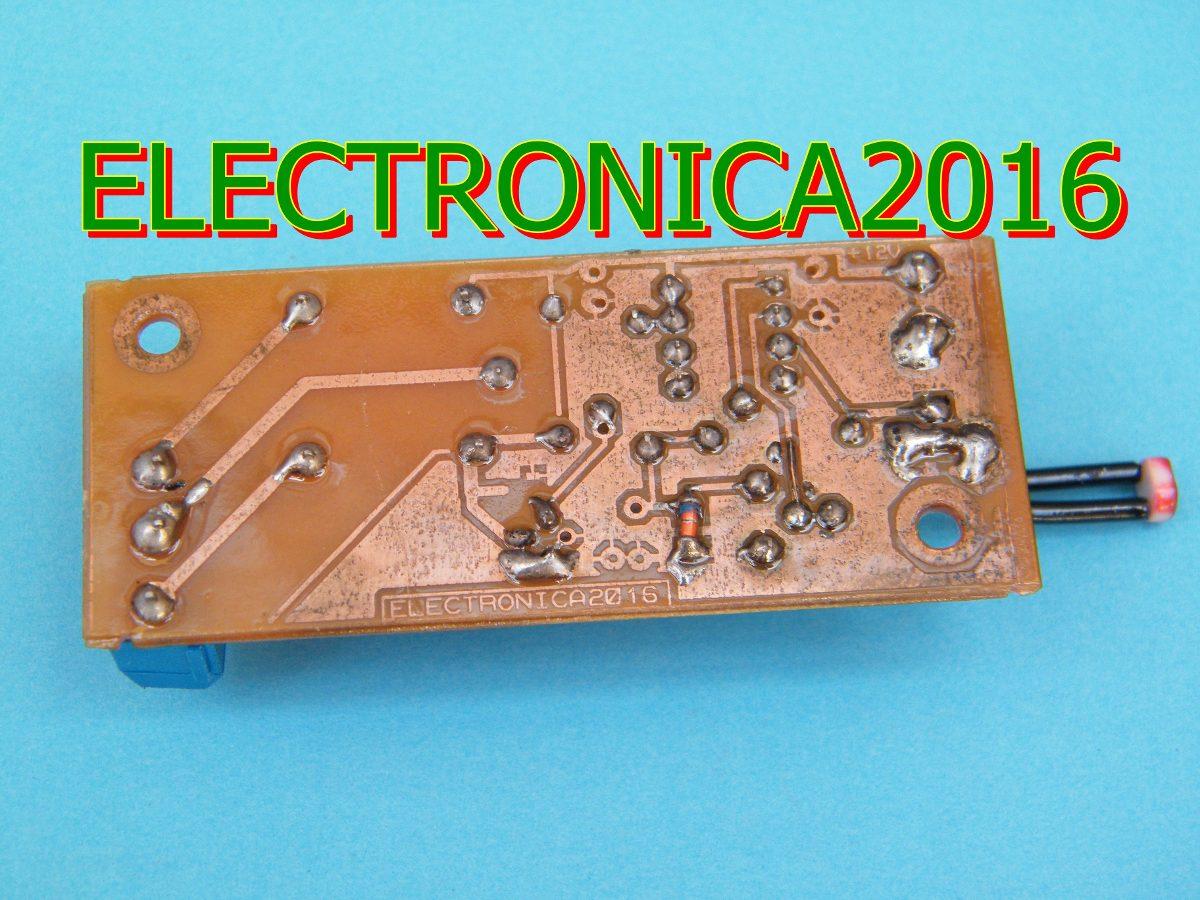 Circuito Ldr : Circuito v sensor ldr control led lm solar rele v