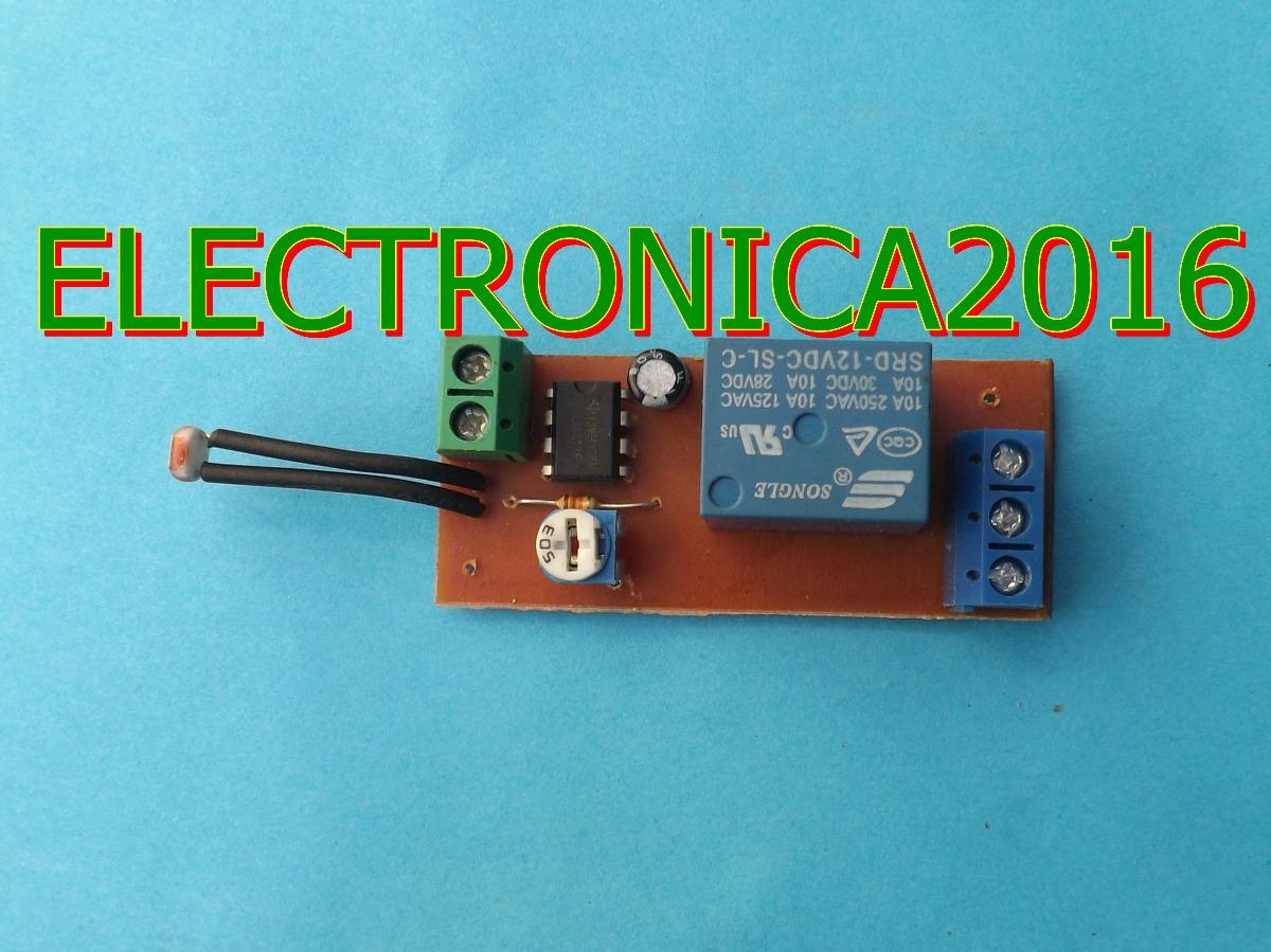 Circuito Ldr : Circuito v sensor ldr control lm solar rele v v