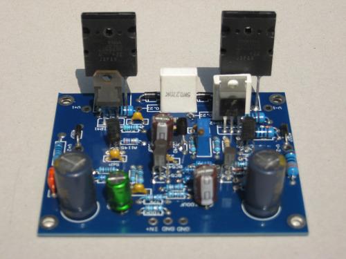 circuito amplificador de audio 100w