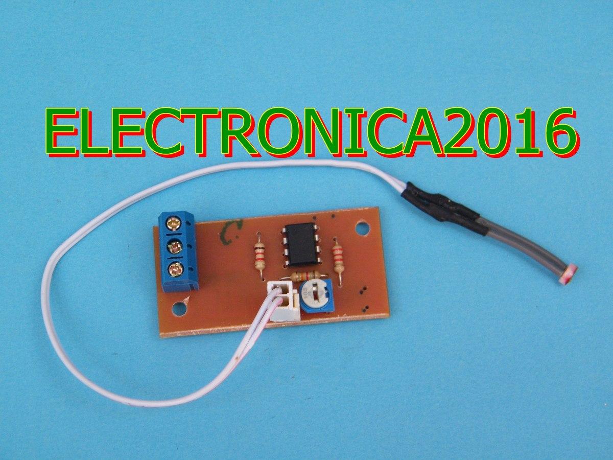 Circuito Ldr : Circuito armado v sensor ldr fotocelda led lm conect