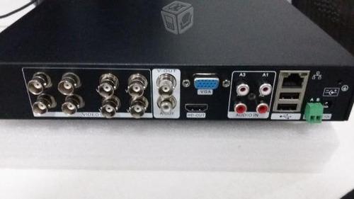 circuito cerrado 8 camaras dvr h.264 monitoreo p2p