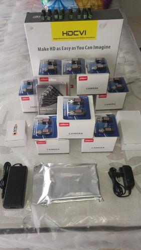 circuito cerrado dvr +8 camaras y componentes