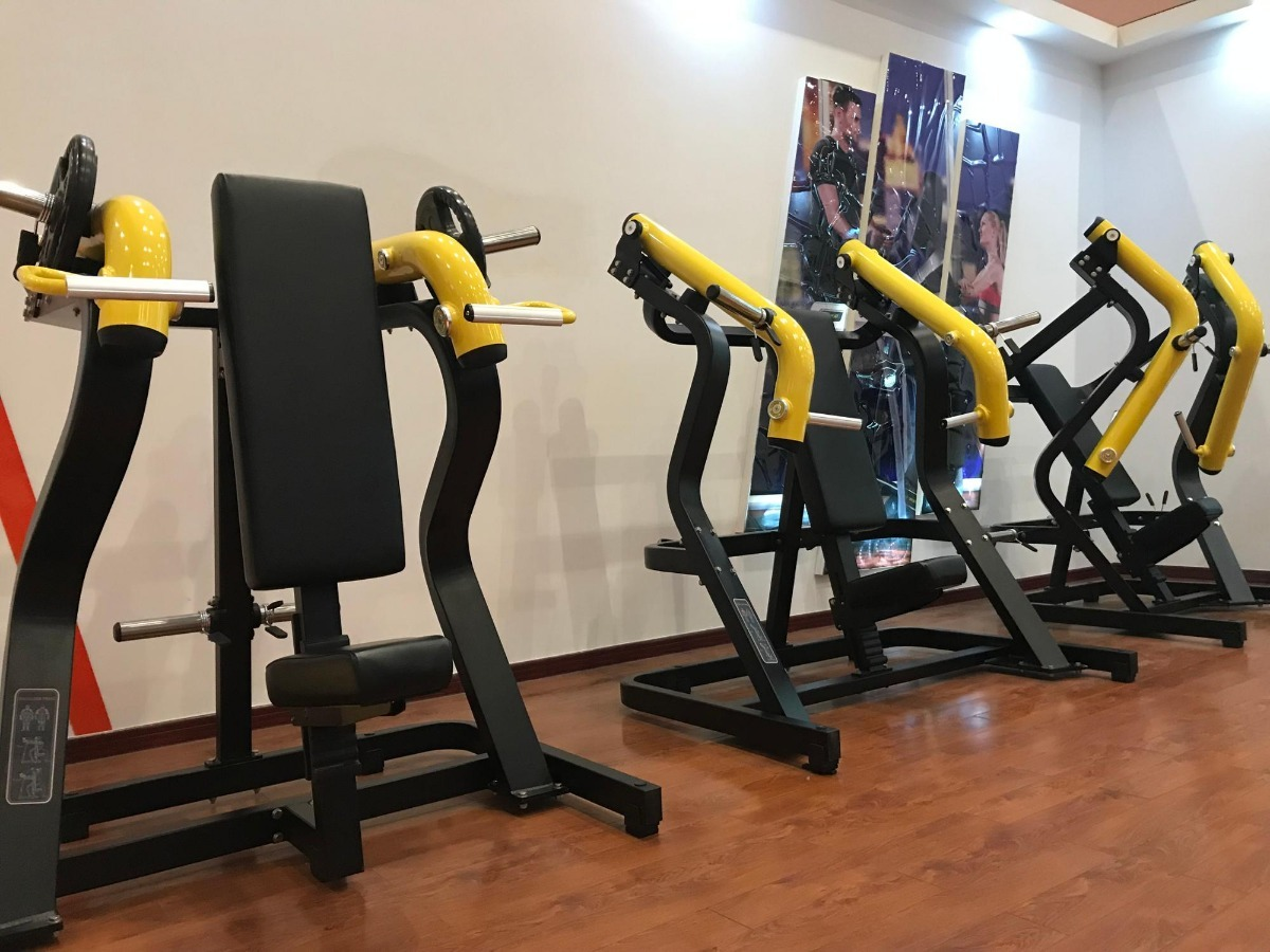 Circuito Gym : Circuito de maquinas gym peso integrado sobre pedido
