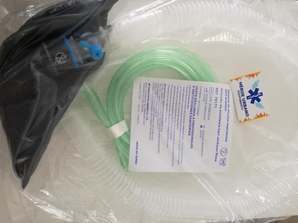 Circuito Jackson : Circuito de anestesia tipo jackson rees equipamiento medico $ 550