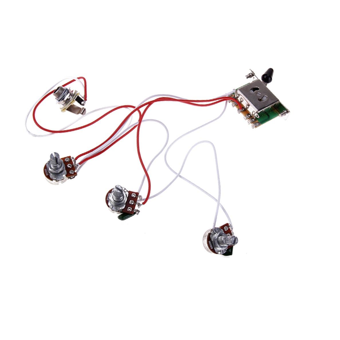 Circuito Eletrico : Circuito eletrico guitarra strato completo r em mercado livre
