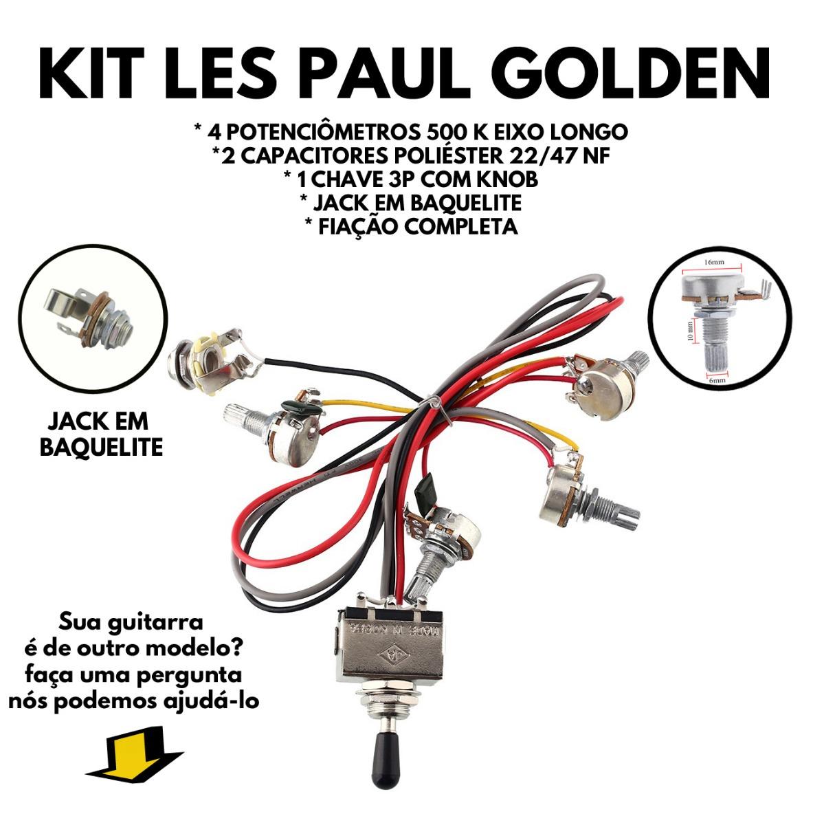 Circuito Eletrico : Circuito eletrico les paul golden todos modelos r em