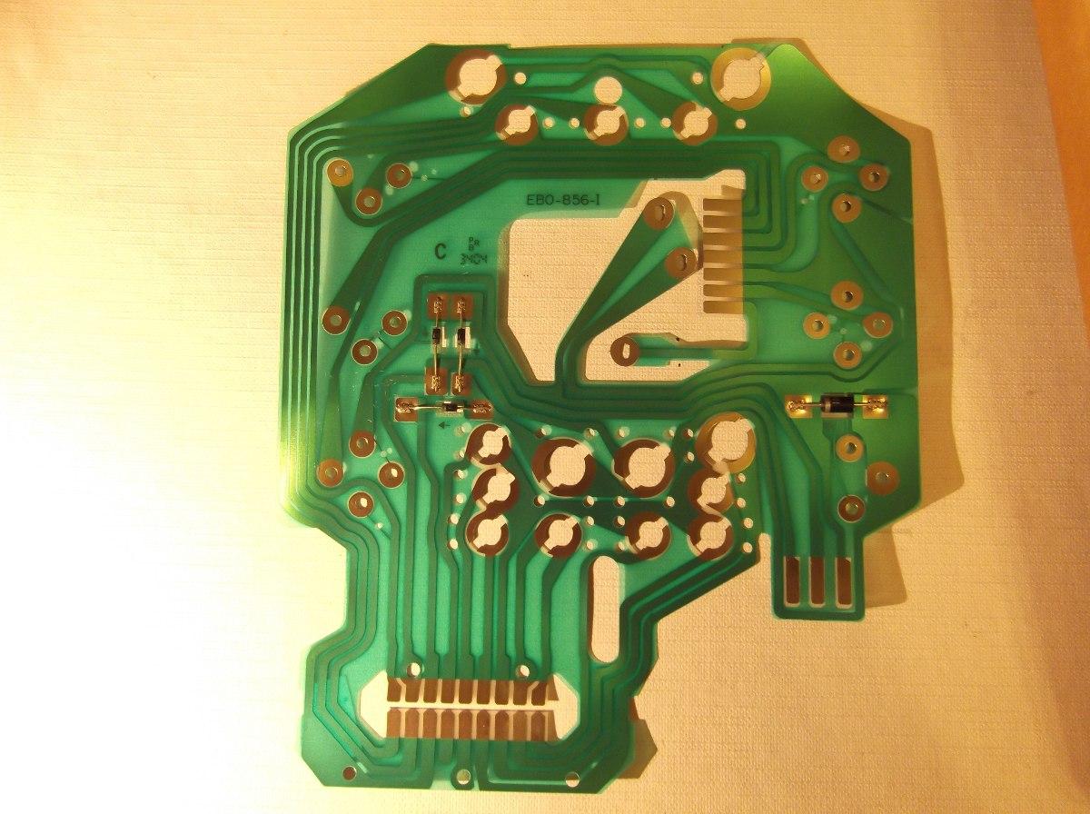 Circuito Impreso : Circuito impreso para tablero instrum scania orig