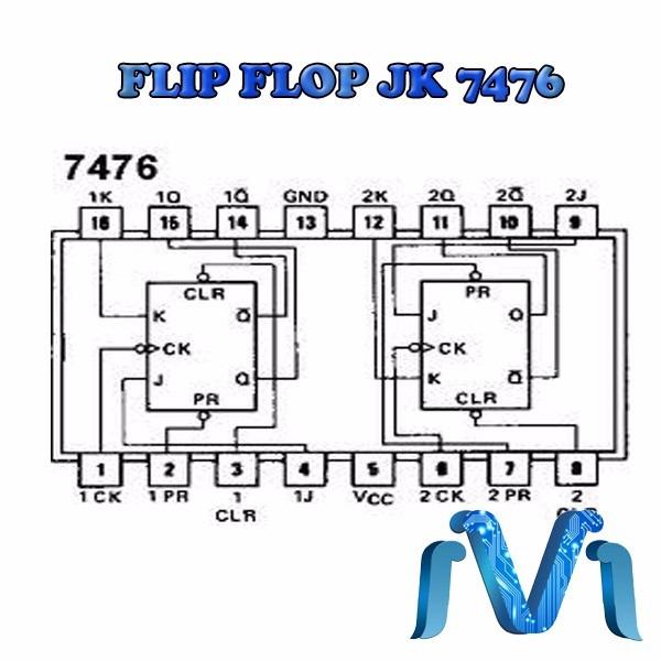 Circuito Flip Flop : Circuito integrado flip flop jk ls en
